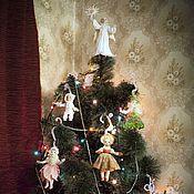 """Сувениры и подарки ручной работы. Ярмарка Мастеров - ручная работа Елочные игрушки """"под винтаж """". Handmade."""