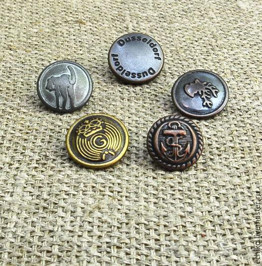 Другие виды рукоделия ручной работы. Ярмарка Мастеров - ручная работа. Купить 12.5 мм Кнопки. Handmade. Кнопки