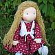 Вальдорфская игрушка ручной работы. Варенька, вальдорфская кукла 36 см.. Кукольная мастерская DollGarden. Ярмарка Мастеров. купить подарок