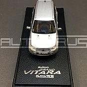 Автомобильные сувениры ручной работы. Ярмарка Мастеров - ручная работа Suzuki Grand Vitara 1/43 (Green) Копия автомобиля на заказ. Handmade.