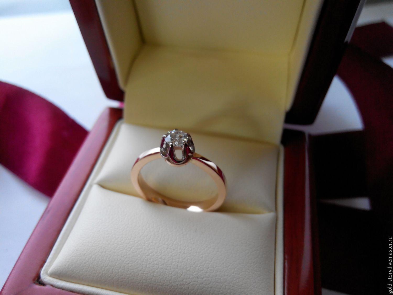 Золотые кольца в коробочке лучшие фото