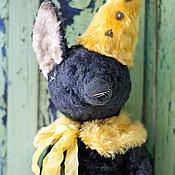 """Куклы и игрушки ручной работы. Ярмарка Мастеров - ручная работа Чернобурый лис """"Фил"""". Handmade."""