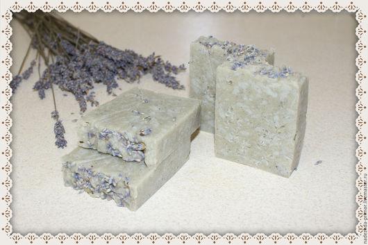 """Мыло ручной работы. Ярмарка Мастеров - ручная работа. Купить """"Лаванда"""" натуральное мыло. Handmade. Сиреневый, мыло ручной работы"""