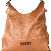 Сумки и аксессуары handmade. Livemaster - original item Womens leather bag of brown. Handmade.