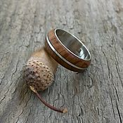 Украшения handmade. Livemaster - original item Wood ring Olive wind. Handmade.