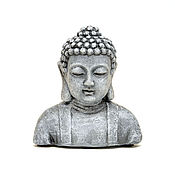 Для дома и интерьера handmade. Livemaster - original item Concrete bust of Buddha for home decor and garden. Handmade.