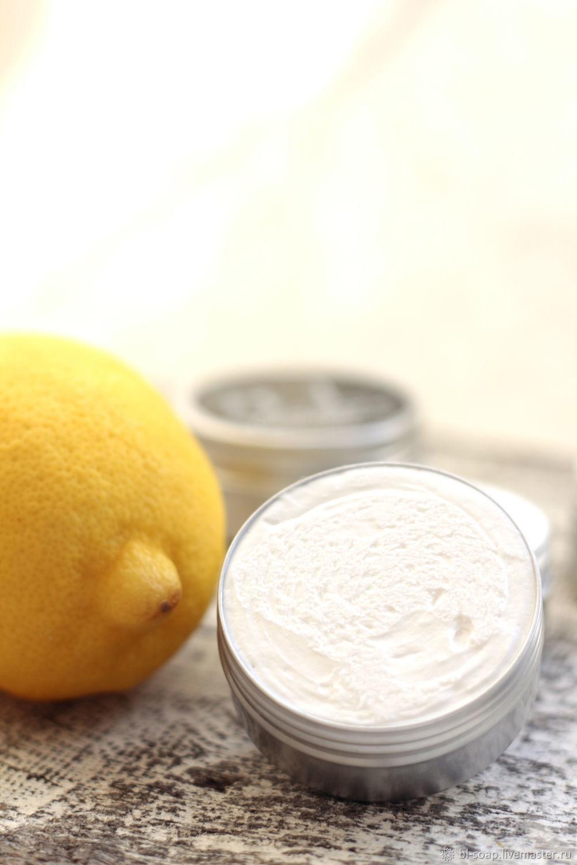 """Взбитое масло ши """"Лимонная меренга"""", Масла, Курган,  Фото №1"""