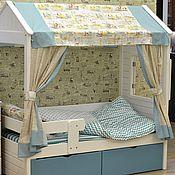 Мебель ручной работы. Ярмарка Мастеров - ручная работа Текстиль для кроватей домиков. Handmade.
