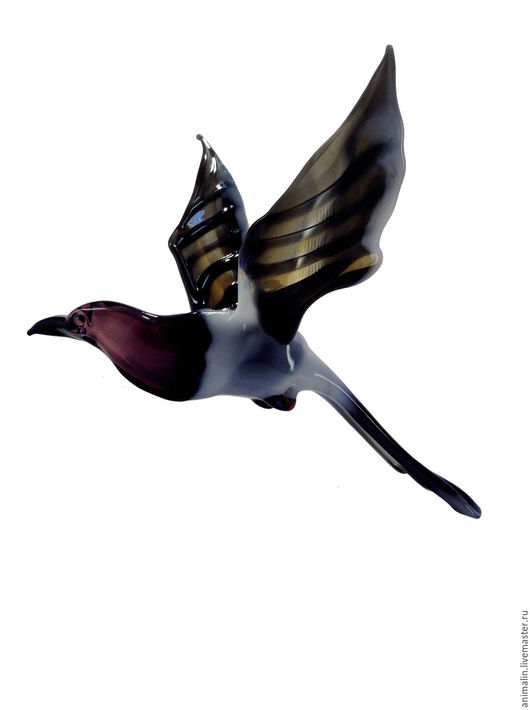 Interior Items handmade. Livemaster - handmade. Buy Interior hanging decoration stained glass bird Magpie Potin.Forty, werewolf