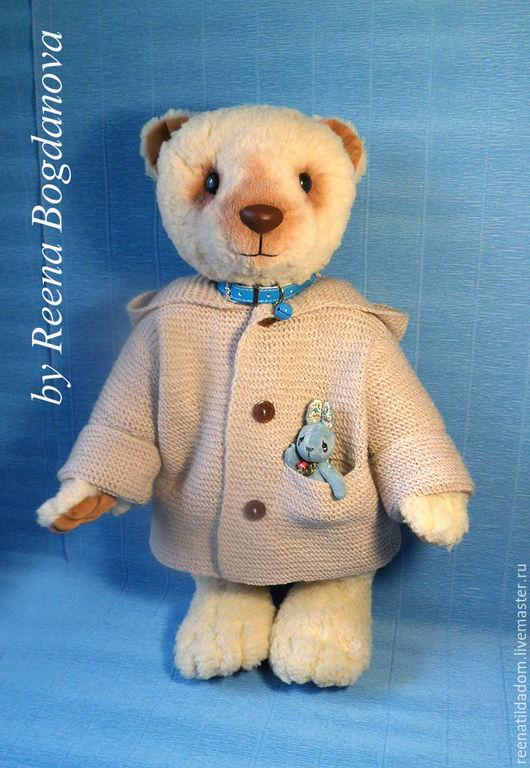 Мишки Тедди ручной работы. Ярмарка Мастеров - ручная работа. Купить Большой медведь Бертран. Handmade. Бежевый, синтепух