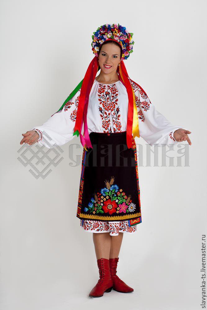 Украинский костюм своими руками выкройка