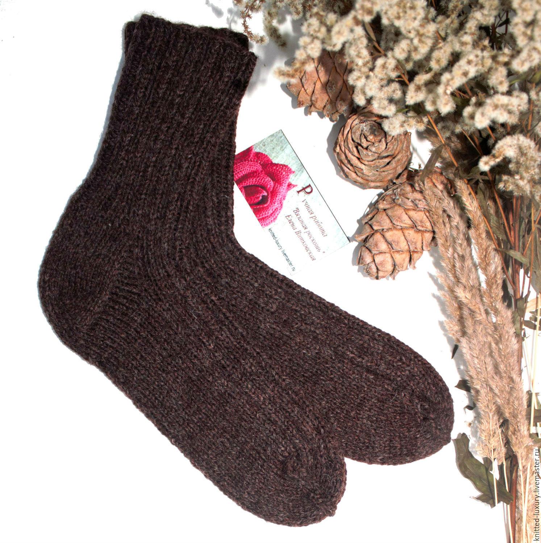 К чему связать мужчине носки