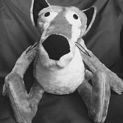 """Куклы и игрушки ручной работы. Ярмарка Мастеров - ручная работа Волк из мультфильма """"Жил был пес"""". Handmade."""