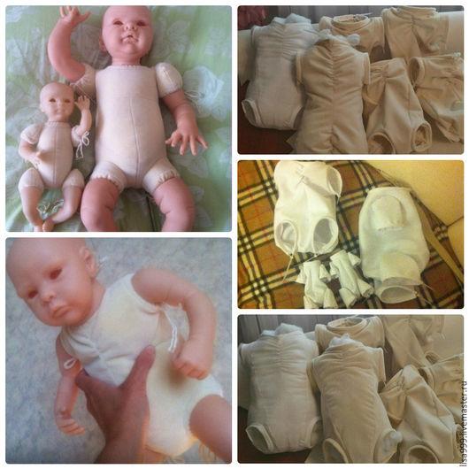Куклы-младенцы и reborn ручной работы. Ярмарка Мастеров - ручная работа. Купить тела для реборнов. Handmade. Белый, качественно, фланель