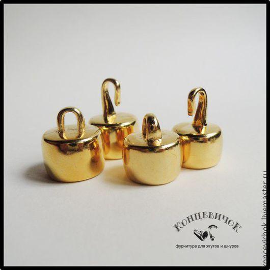 Для украшений ручной работы. Ярмарка Мастеров - ручная работа. Купить Замки 15 мм и 12 мм золото Греция. Handmade.