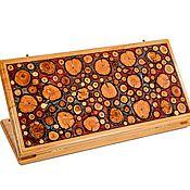 Активный отдых и развлечения handmade. Livemaster - original item Handmade backgammon