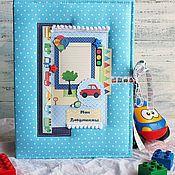 Подарки к праздникам ручной работы. Ярмарка Мастеров - ручная работа папка для малыша. Handmade.