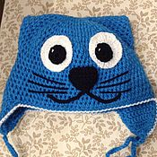 """Работы для детей, ручной работы. Ярмарка Мастеров - ручная работа Шапочка """"Котик"""". Handmade."""