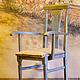 Мебель ручной работы. Жемчужный стульчик. alenaklauzner. Ярмарка Мастеров. Ручная работа, Декор, классика