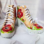 Обувь ручной работы handmade. Livemaster - original item Shoes women`s high heels