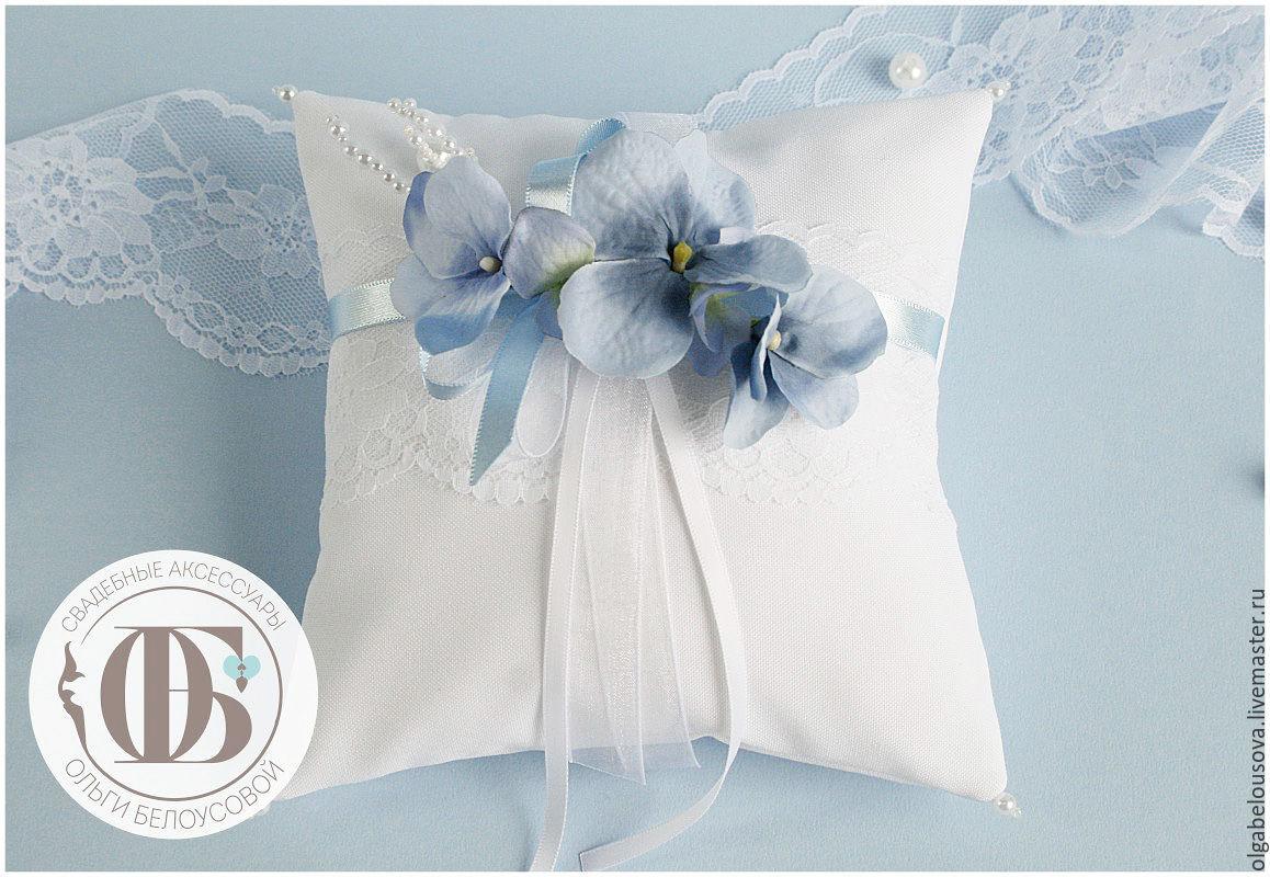 5a78ffff04e7faf Заказать Голубая гортензия ; бело-голубые свадебные аксессуары с цветами ...