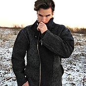 """Одежда ручной работы. Ярмарка Мастеров - ручная работа Куртка мужская """"Косуха"""" - войлок. Handmade."""