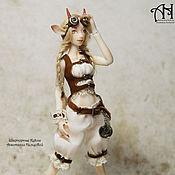 Куклы и игрушки handmade. Livemaster - original item Steam-goat Lucy (13 cm). Handmade.
