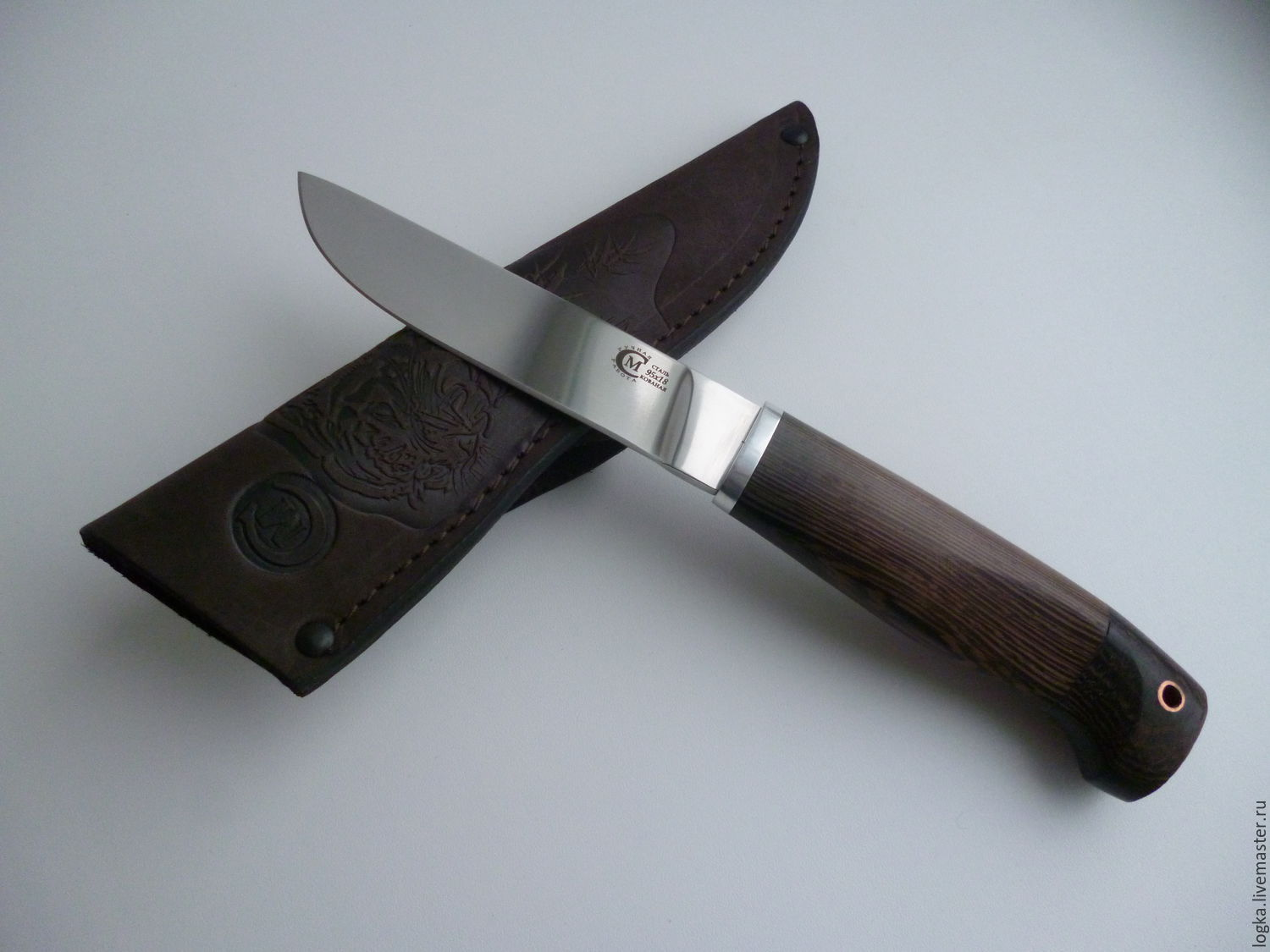 Knife'Finnish forged steel 95H18, Weapons, Vyazniki, Фото №1
