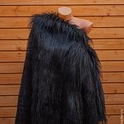 Мех ручной работы. Ярмарка Мастеров - ручная работа Мех искусственный длинношерстный. Вороново крыло. Handmade.