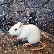 Мягкие игрушки ручной работы. Ярмарка Мастеров - ручная работа Игрушки: Мышь. Handmade.