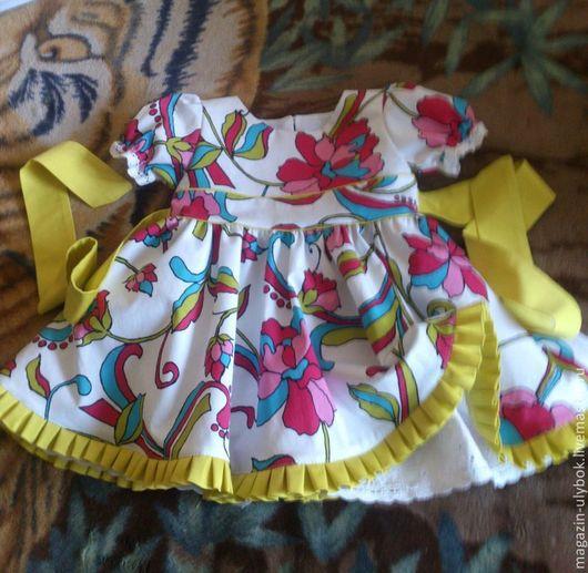 Одежда для девочек, ручной работы. Ярмарка Мастеров - ручная работа. Купить Нарядное платье для девочки. Handmade. Салатовый, платье для малышки