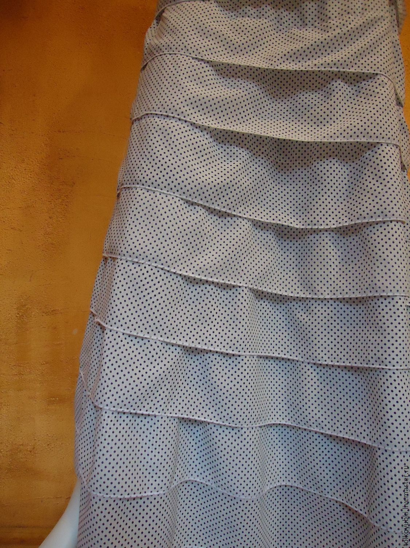 Polka dot skirt with ruffles Seville, Skirts, Novosibirsk,  Фото №1