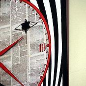 Для дома и интерьера ручной работы. Ярмарка Мастеров - ручная работа Часы «Осенние встречи». Handmade.