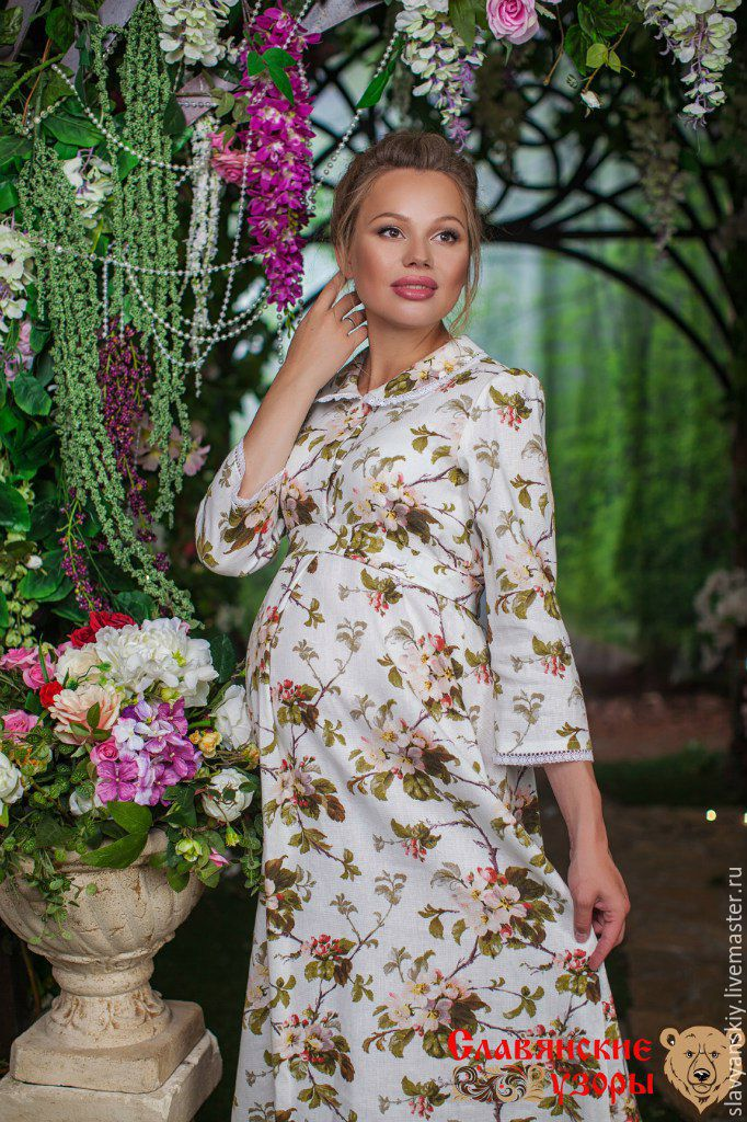 Платье яблоневый цвет фото