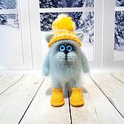Куклы и игрушки handmade. Livemaster - original item Cat Puhani ( mini version ). Handmade.