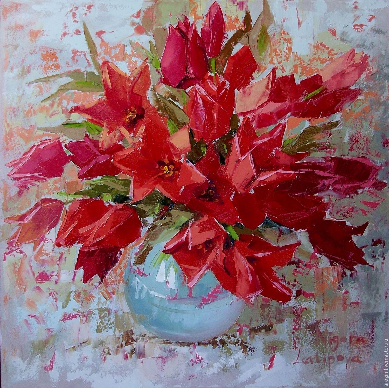 Горные тюльпаны, Картины, Ташкент, Фото №1