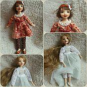 Куклы и игрушки ручной работы. Ярмарка Мастеров - ручная работа Куколки для домика. Handmade.