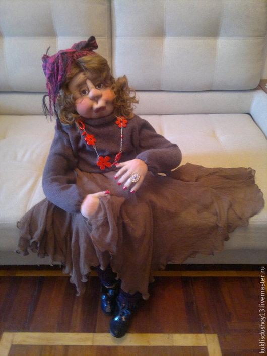 Коллекционные куклы ручной работы. Ярмарка Мастеров - ручная работа. Купить Соседка Раиса Коммуналкина. Handmade. Разноцветный, подарок мужчине