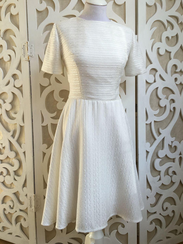 Купить итальянское белое платье