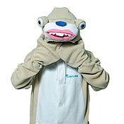 Субкультуры handmade. Livemaster - original item Costume kigurumi fleece Sid the sloth (Ice age). Handmade.