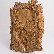 Для дома и интерьера handmade. Livemaster - original item Wooden key holder wood Grouse (small). Handmade.