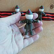 Куклы и игрушки handmade. Livemaster - original item Soldier warrior. Handmade.