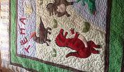 """Для дома и интерьера ручной работы. Ярмарка Мастеров - ручная работа Детское одеяло """"Динозаврики"""". Handmade."""