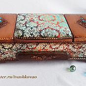 Для дома и интерьера ручной работы. Ярмарка Мастеров - ручная работа Шкатулка Фирюзэ2. Handmade.