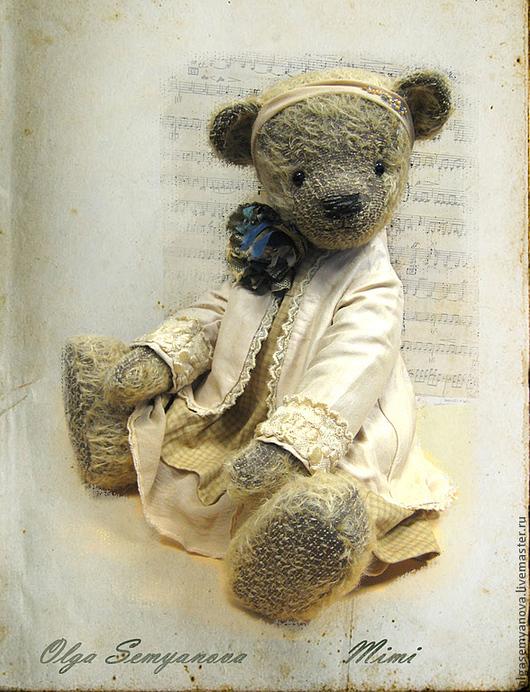 Мишки Тедди ручной работы. Ярмарка Мастеров - ручная работа. Купить Мими. Handmade. Бежевый, опилки