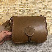 Классическая сумка ручной работы. Ярмарка Мастеров - ручная работа Кожаная женская сумка. Handmade.