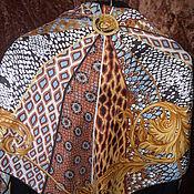 Винтаж handmade. Livemaster - original item VERSACE scarf,100% silk,vintage Italy. Handmade.