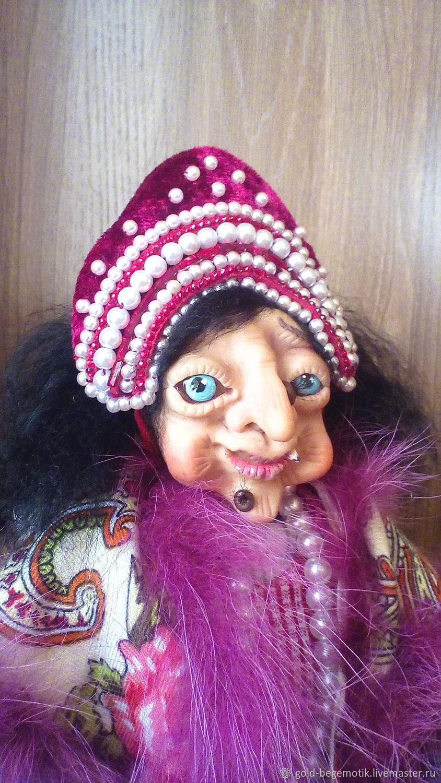 Кукла Баба Яга, Народная кукла, Бийск,  Фото №1