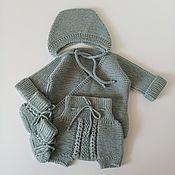 Одежда детская handmade. Livemaster - original item Set of clothes for a newborn. Handmade.