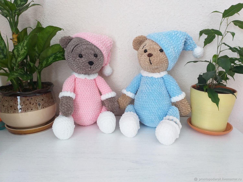 Мягкий плюшевый мишка, Мягкие игрушки, Сочи,  Фото №1